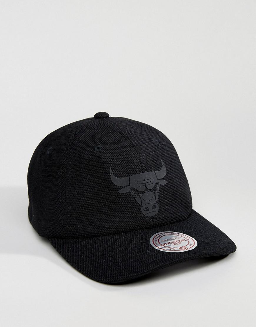 quality design a851a 995e5 ... nba x flexfit 110 snapback cap 30aa5 6909c  new arrivals lyst mitchell  ness 110 flexfit cap chicago bulls in black for men 7f8fd 88fed