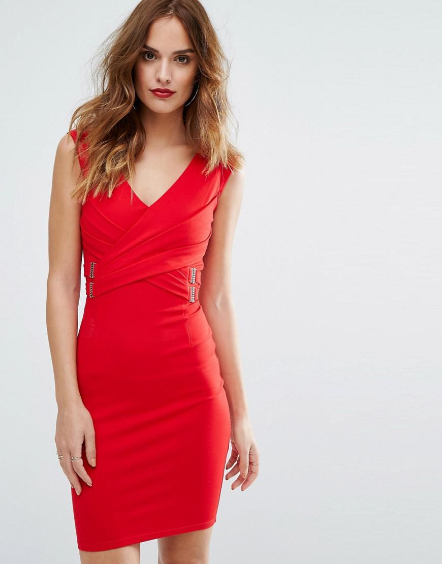 Lipsy cornelli halter neck bodycon dress truworths