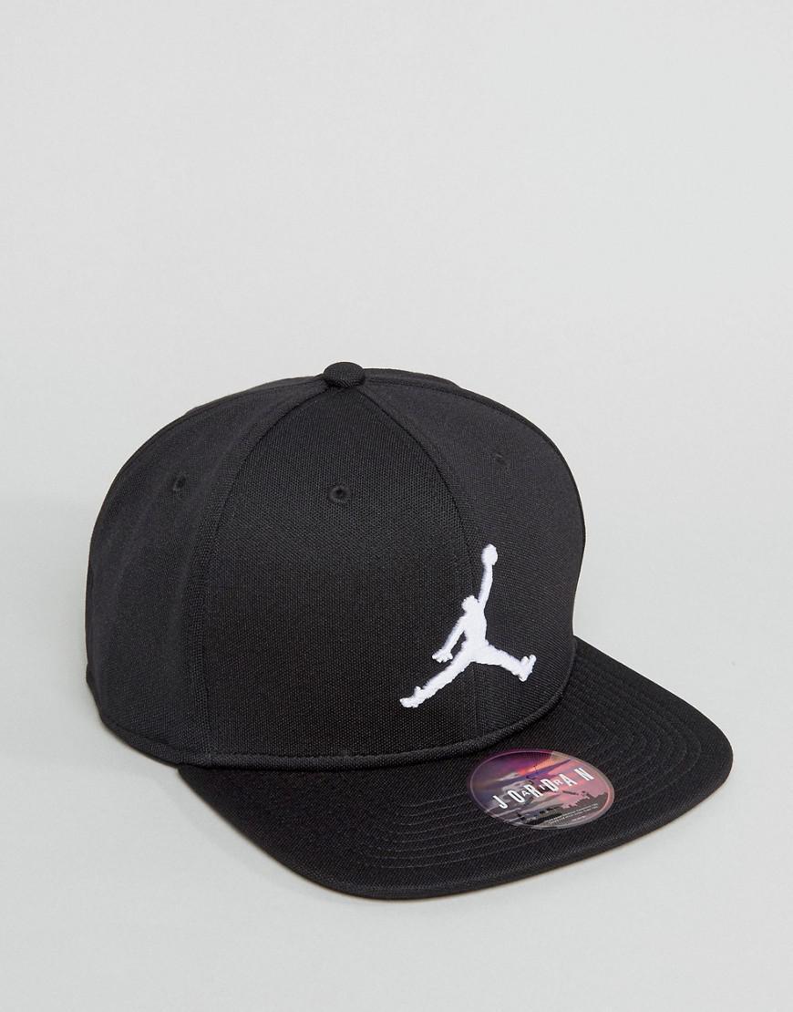 c468f82324e Nike Nike Jumpman Snapback Cap In Black 861452-013 in Black for Men ...