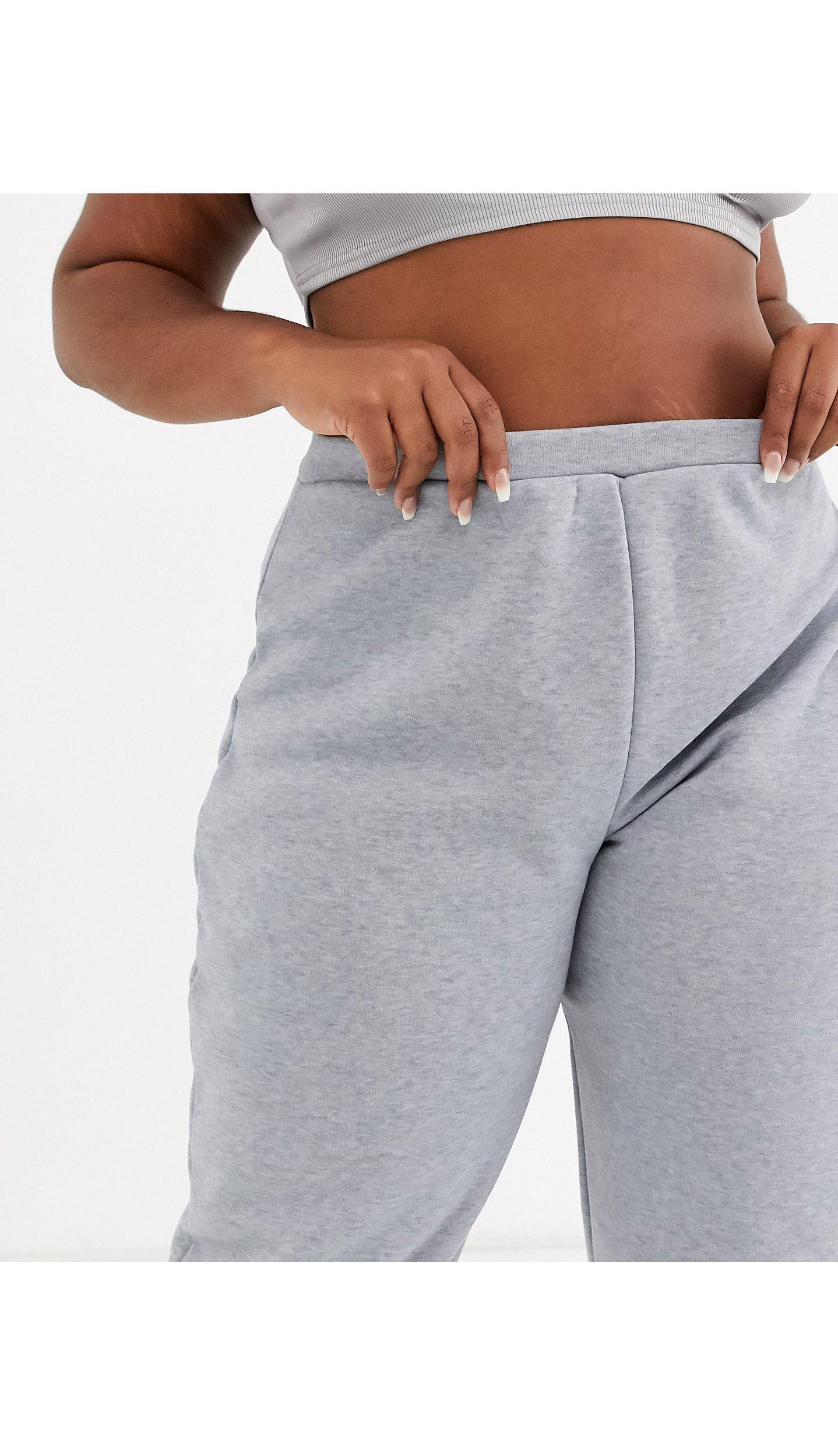 Jogger gris Fashionkilla de Tejido sintético de color Gris