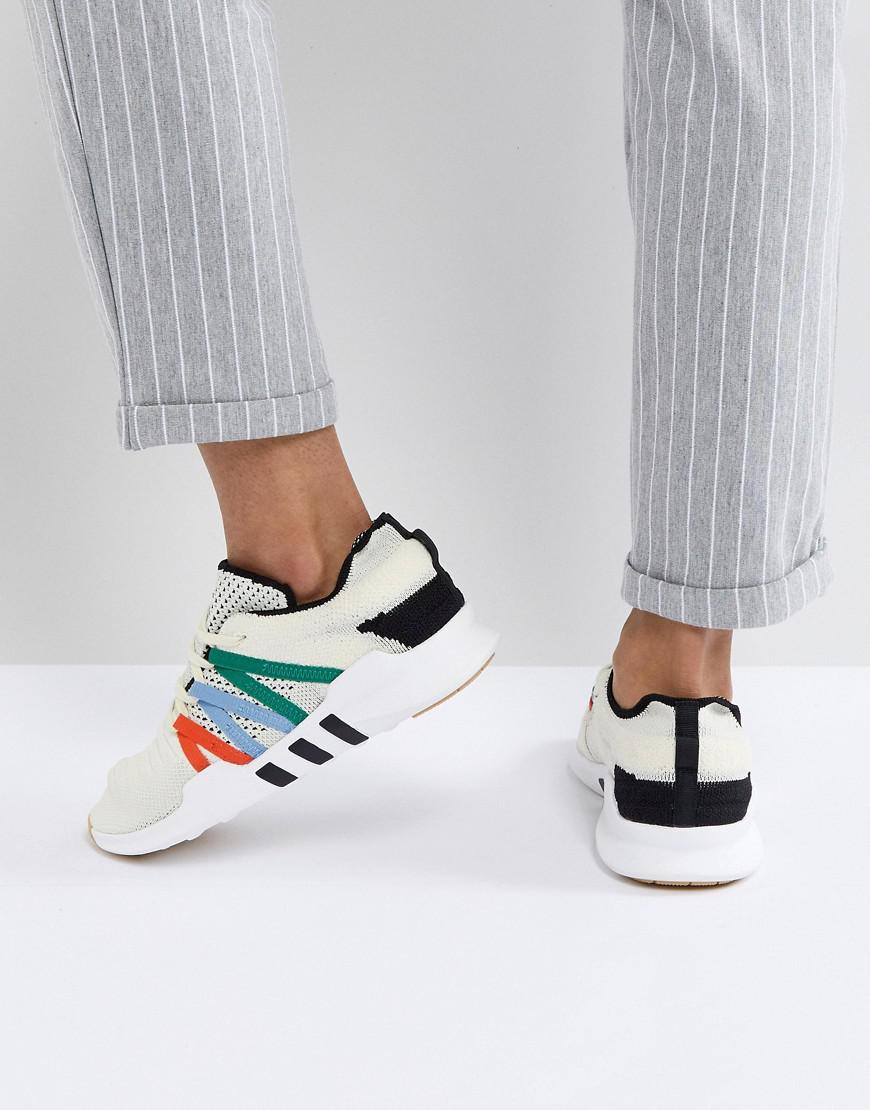 the best attitude 5db76 071da adidas Originals Eqt Racing Adv Trainers In Off White - Lyst
