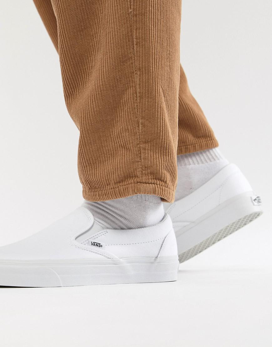 wide range of sale online outlet store cheap online Vans Classic Slip-On Plimsolls In White VEYEW00 eastbay cheap online clearance low cost cheap best zlzqw
