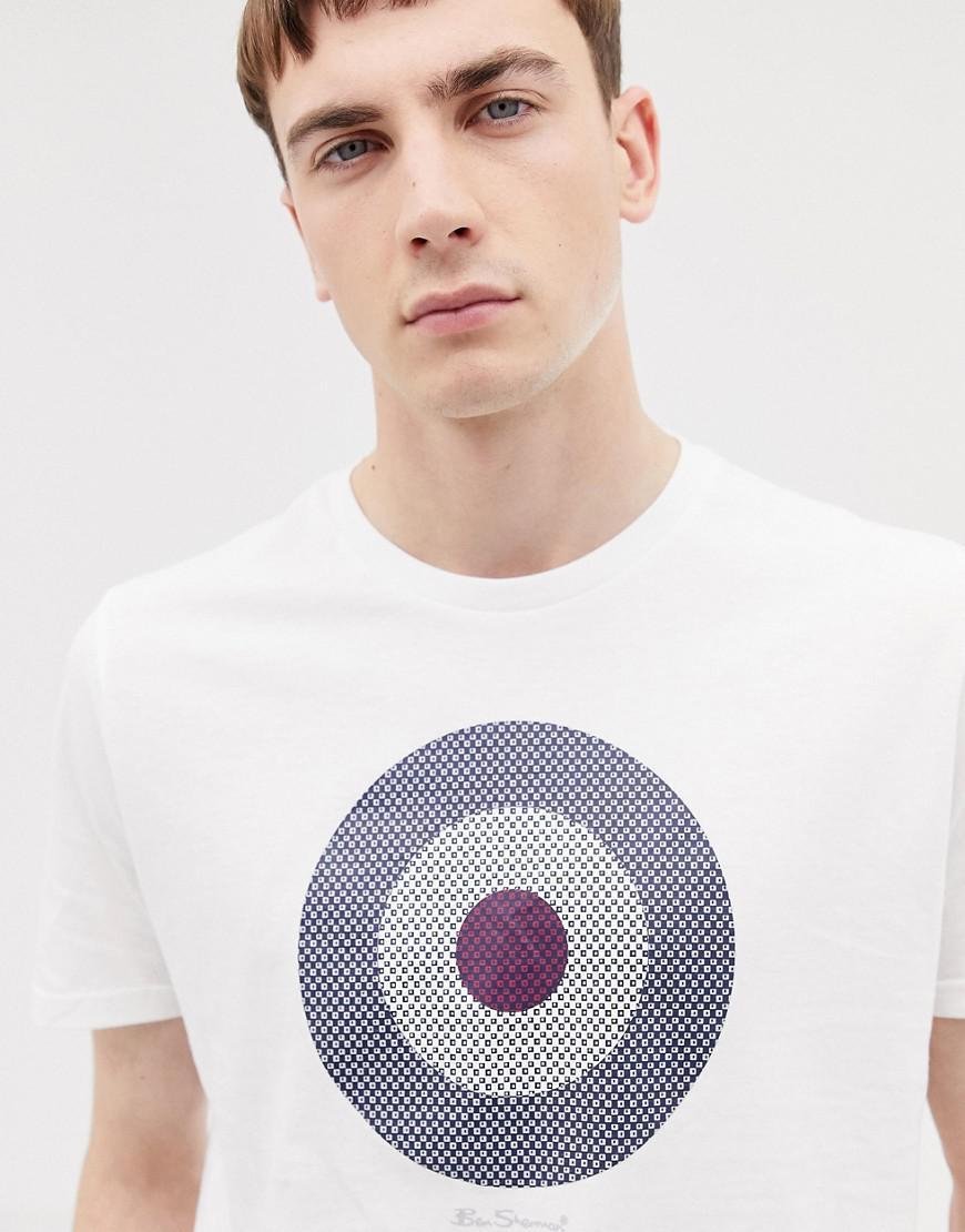 Ben Sherman Target Chevron Print short sleeve cotton T-Shirt
