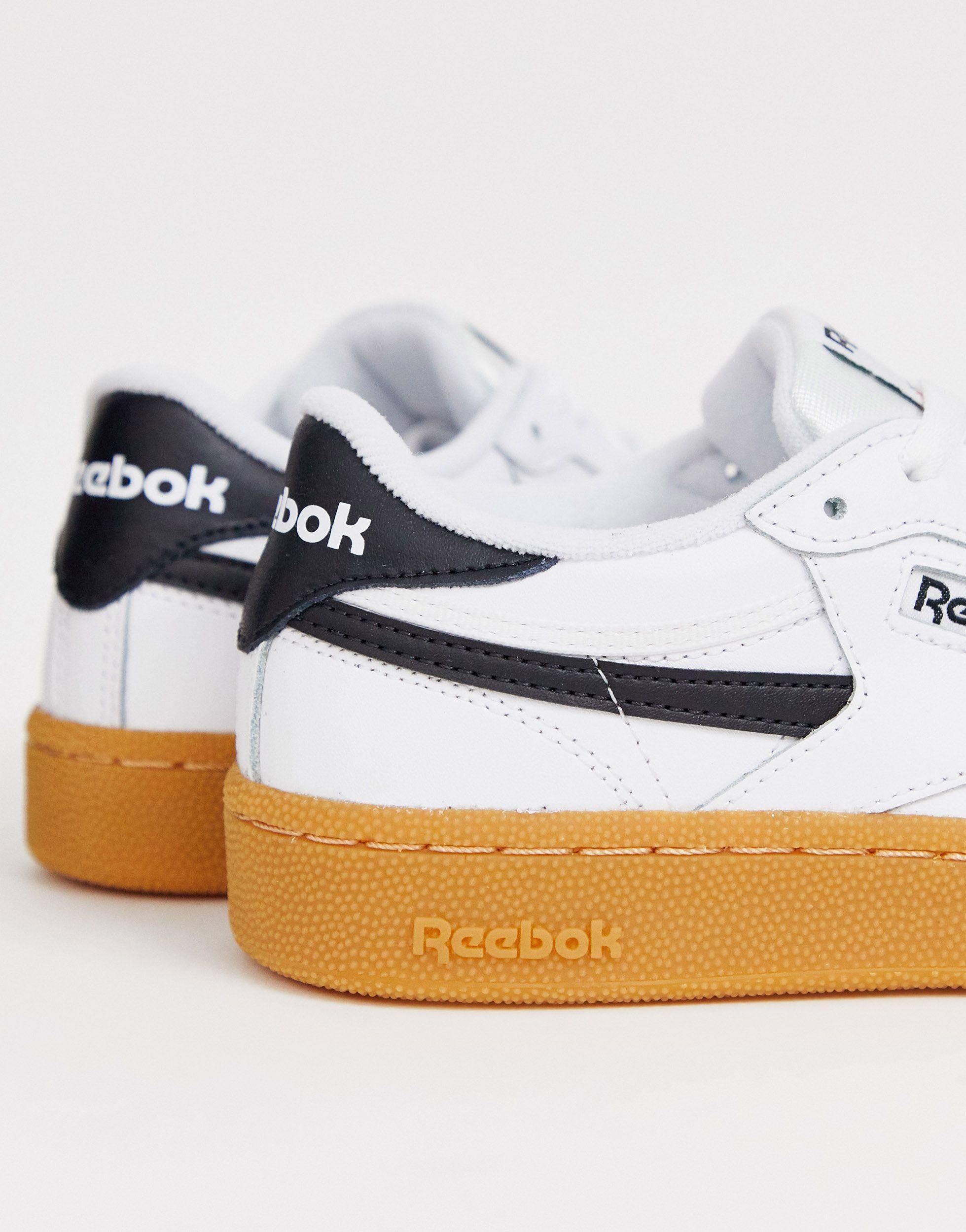 Revenge - Baskets avec semelle en caoutchouc Reebok en coloris Blanc yWLJ