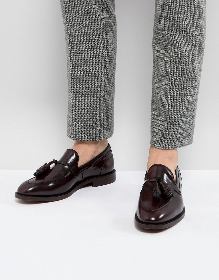 Lyst H by Hudson H London Benedict Hi Shine Loafers In Red