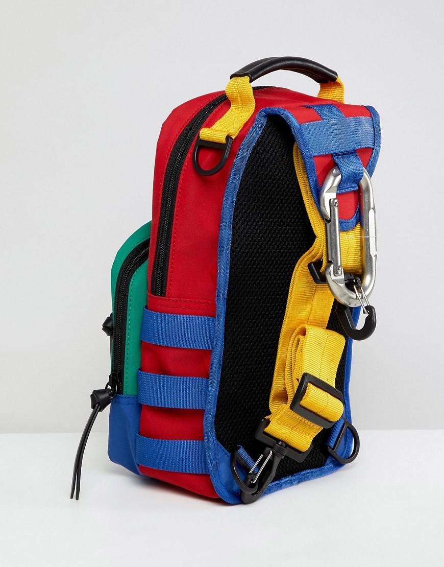 9f90bf58ed Polo Ralph Lauren Hi Tech Capsule Nylon Sling Cross-body Bag In Blue ...