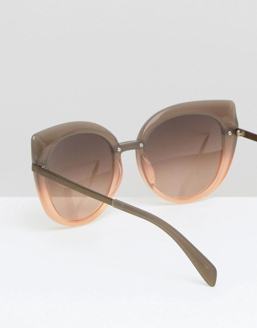 Marc By Marc Jacobs Mirro Lens Cat Eye Sunglasses in Pink
