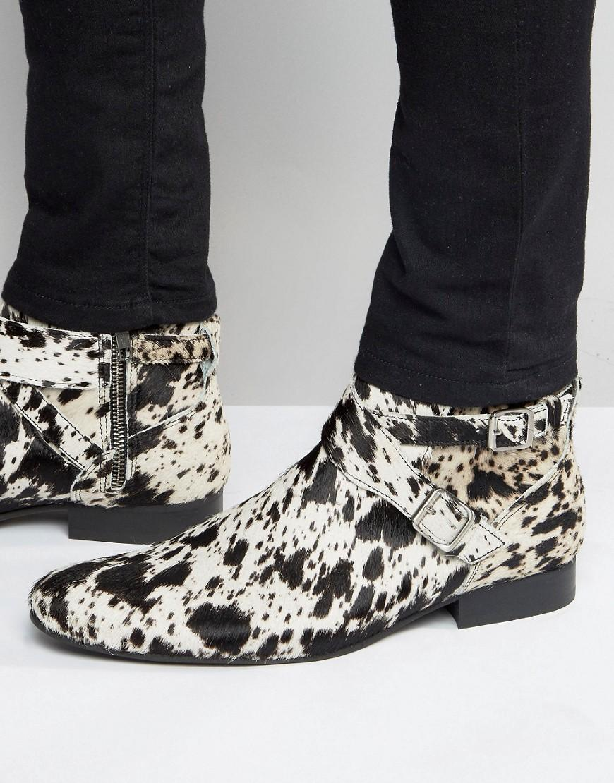 Lyst house of hounds leather jodphur boots in black for men for Case a buon mercato in mammoth ca