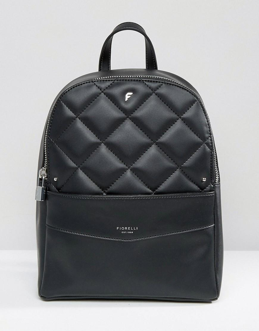 Fiorelli Trenton Quilted Backpack In Black Lyst