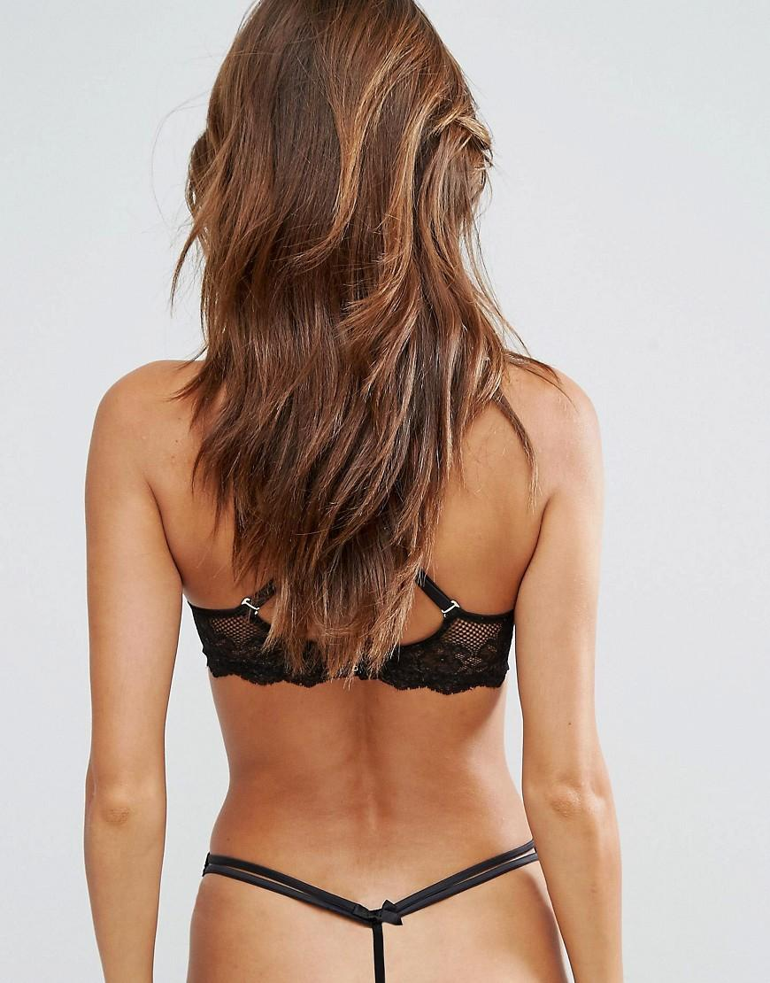 62687c9e29 Agent Provocateur Valentine Thong Black And Multi In Black
