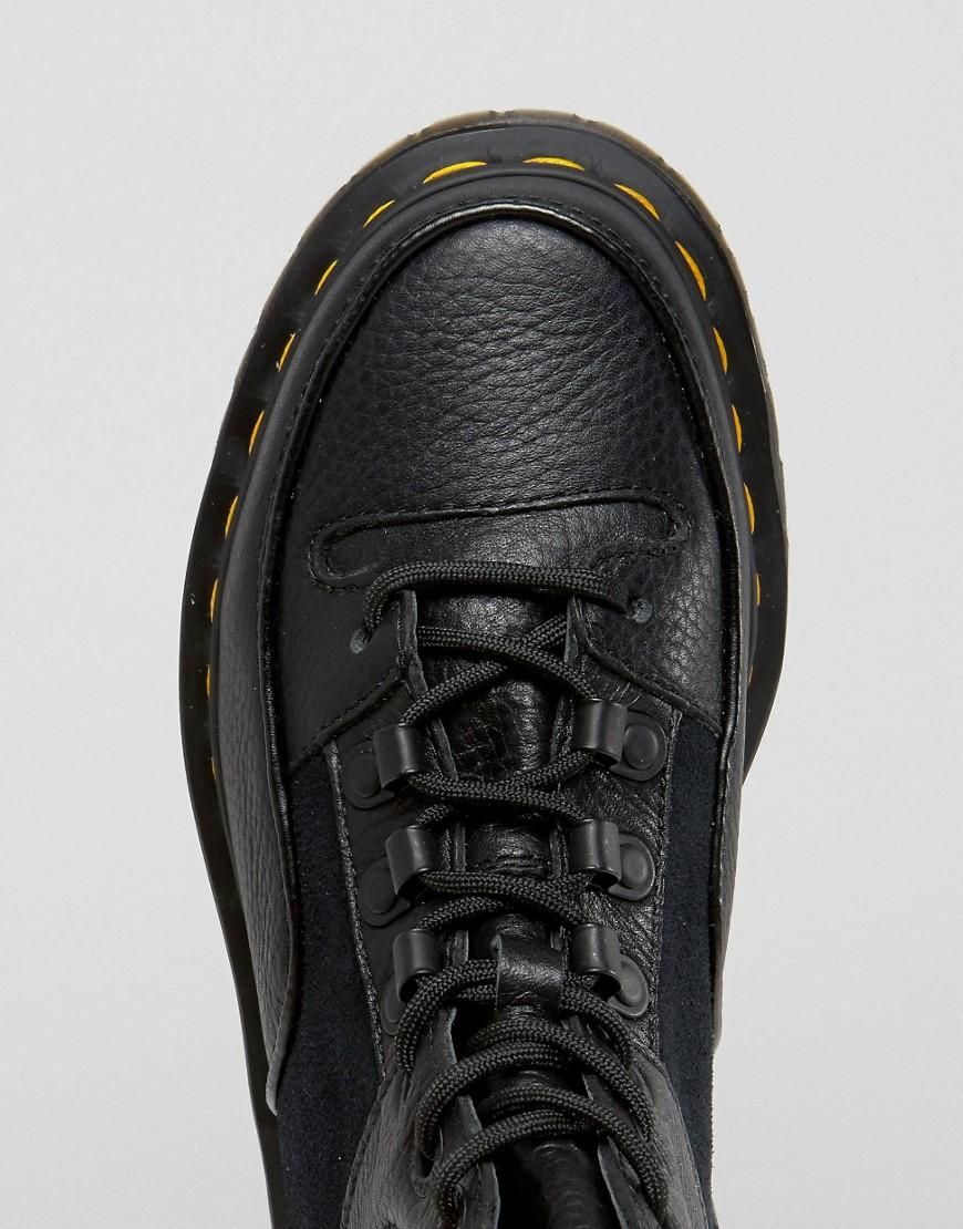 2a304292 Dr. Martens Zuma Hiker Ankle Boots in Black - Lyst