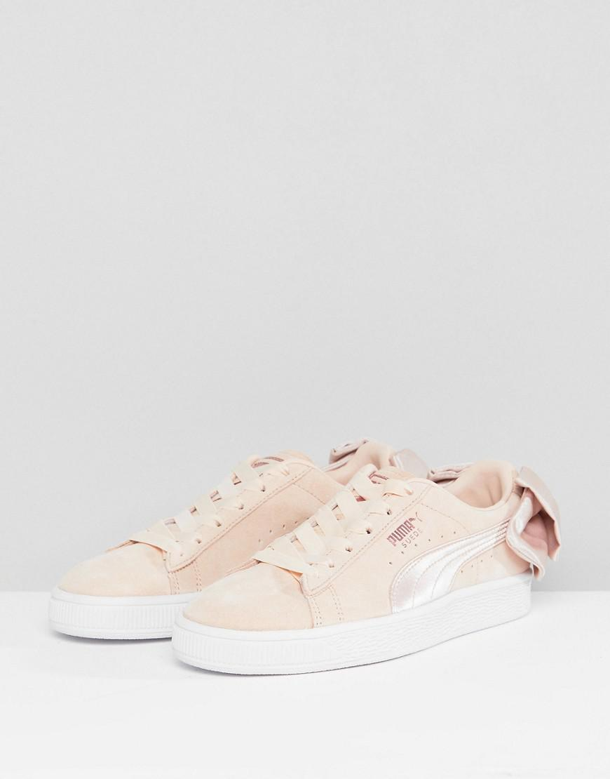 Suede Valentines In Sneakers Puma Bow Pink A5RjL34q
