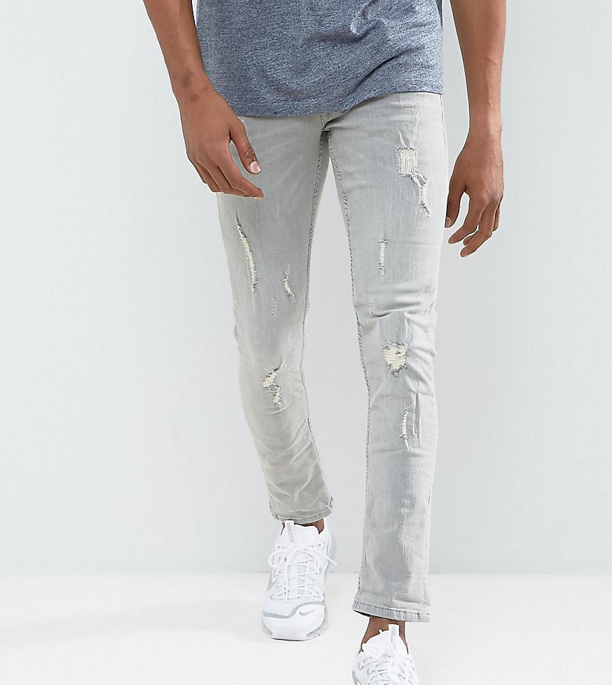 Cheap In China Discount Reliable Cirrus Ripped Skinny Jeans in White - White Blend Free Shipping Excellent Outlet Sast 6o3De7u4