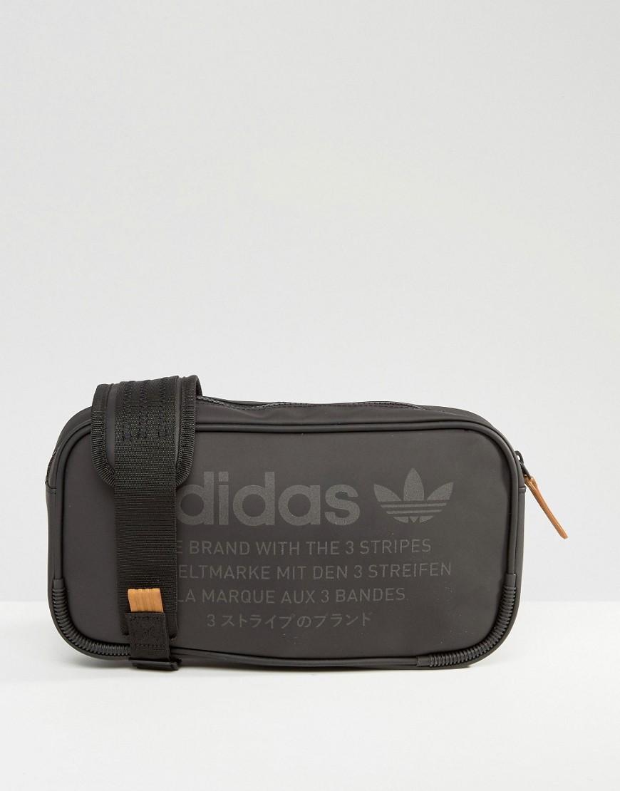 Lyst - adidas Originals Nmd Cross Body Bag Bk6852 in Black for Men 5dce4d9aaac06