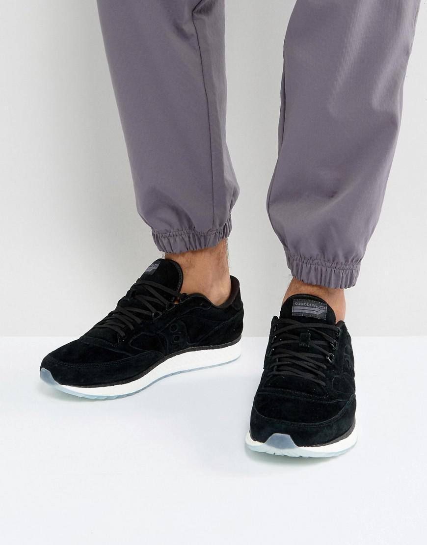 5dd7e40eb3 Men's Freedom Runner Sneakers In Black S40001-2