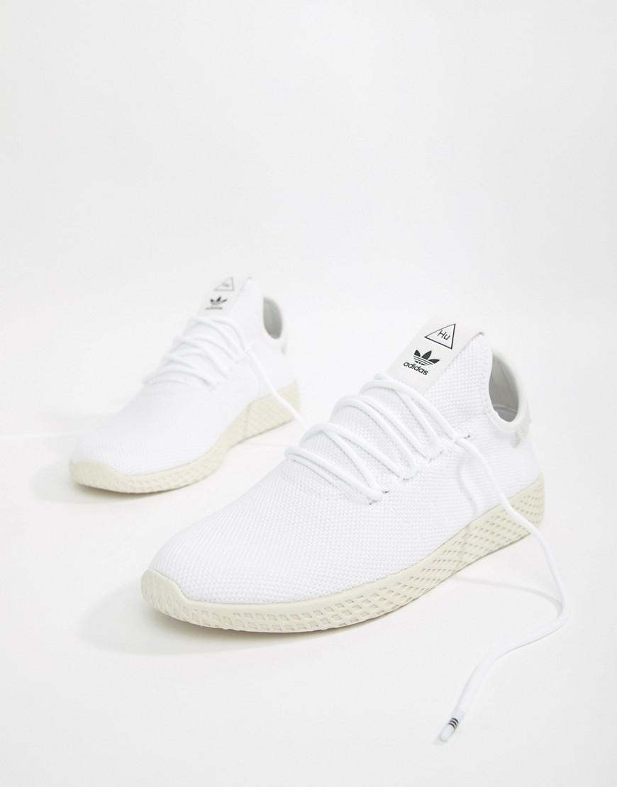 7ec961ee247 adidas Originals Pw Tennis Hu Trainers In White in White for Men - Lyst