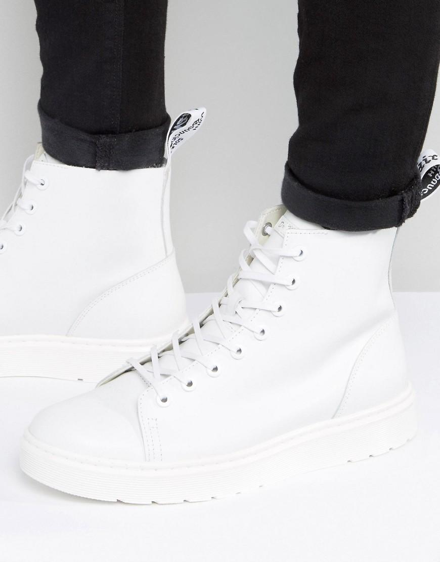 Dr. Martens Leather Talib 8 Eye Boots