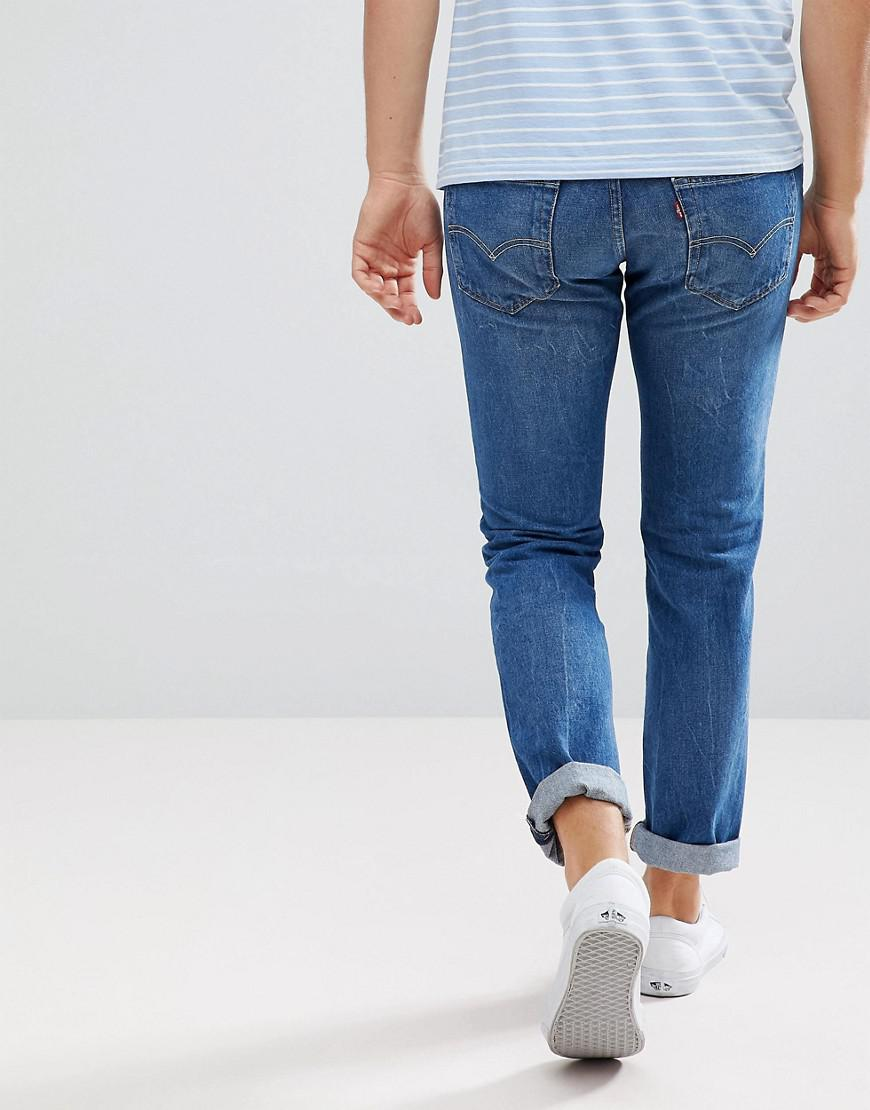 Levi's Denim Levi's 511 Slim Fit Jeans Mid City in Blue for Men