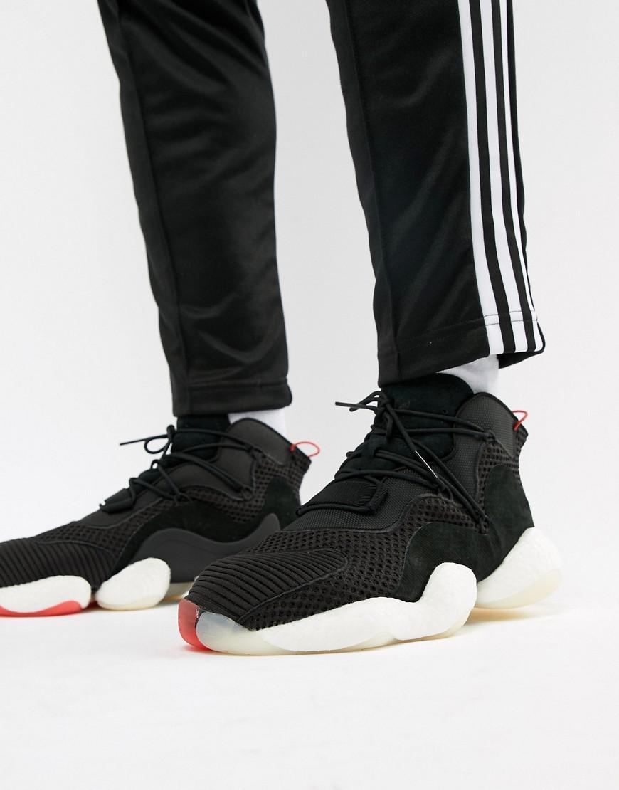 online retailer e80a0 4b7a6 adidas Originals. Mens Crazy Byw Trainers In Black B37480