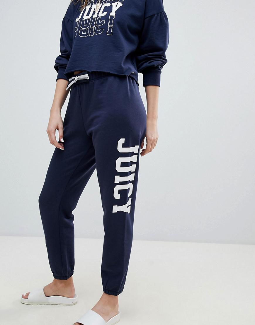Juicy Couture Juicy By Bold Logo Joggers in Black