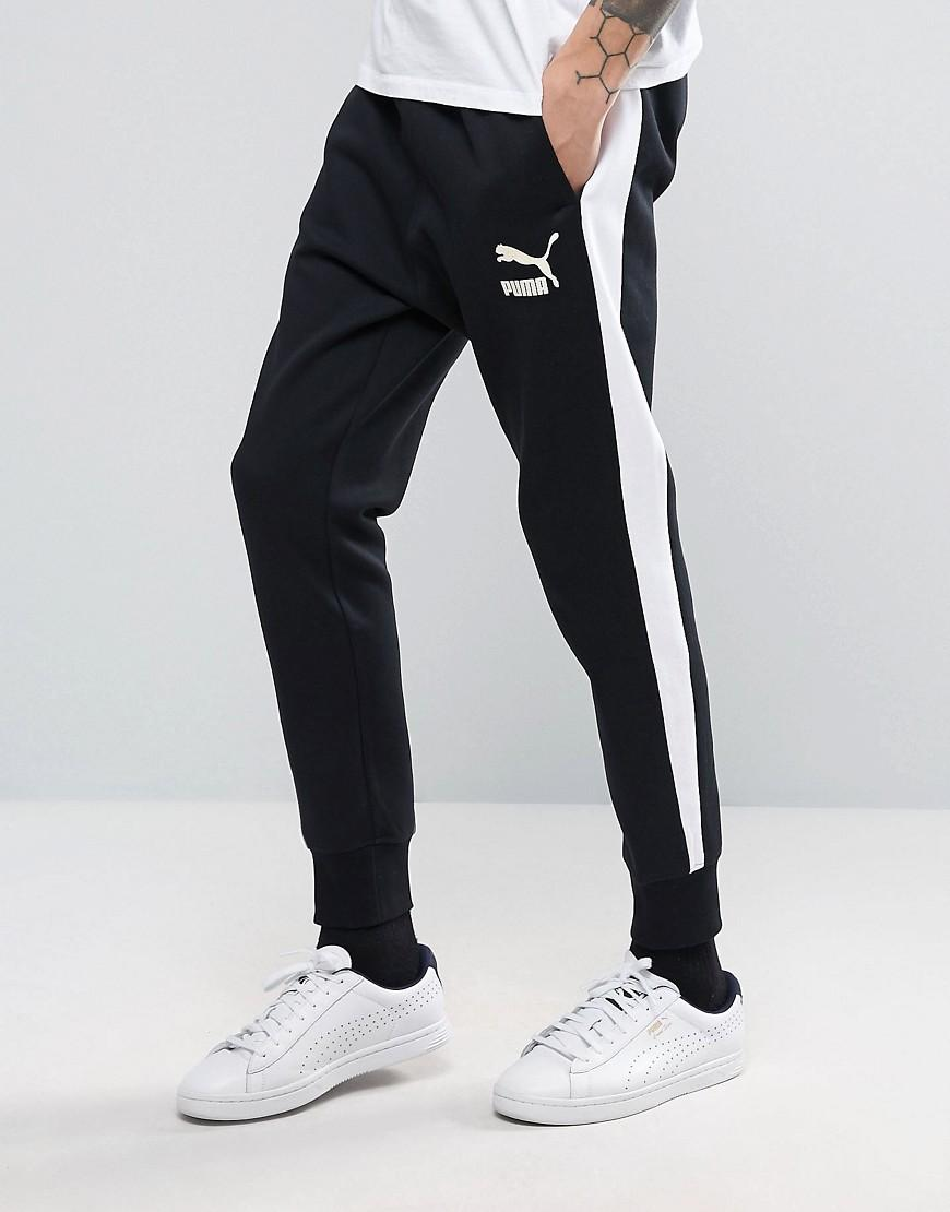 a2bed0dc905a Lyst - Puma Archive Joggers In Black In Black For Men