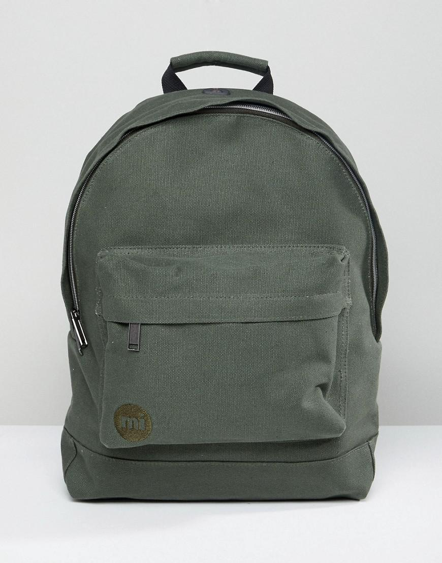 Lyst - Mi-Pac Canvas Backpack In Khaki in Green for Men d74d3281bc886