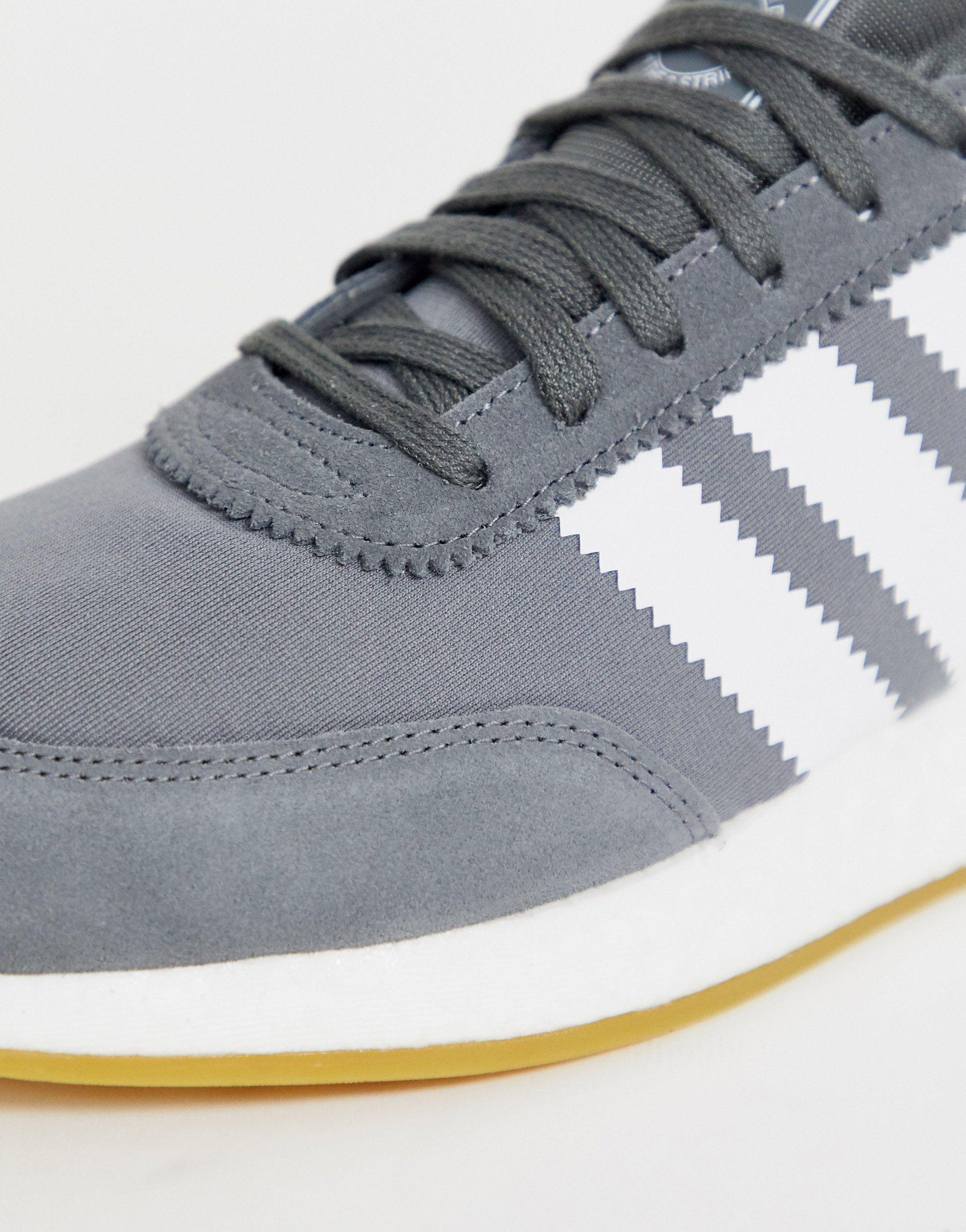 Zapatillas I-5923 adidas Originals de Ante de color Gris para hombre