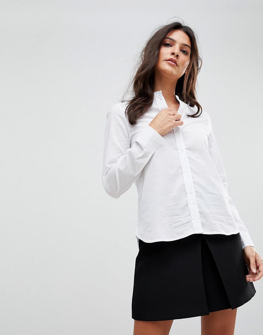 2affbe4c14 White Grandad Style Shirts - DREAMWORKS