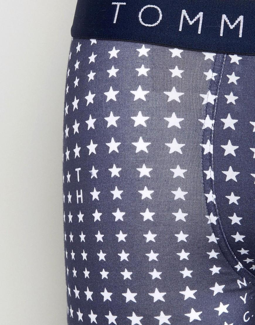 3ba99f24e1 Tommy Hilfiger Nyc Star Icon Trunks in Blue for Men - Lyst