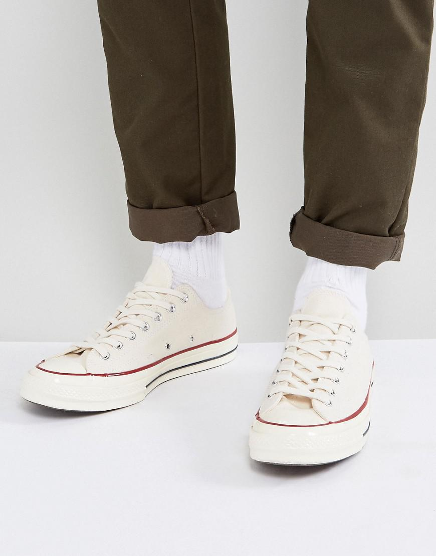 outlet sneakernews many kinds of cheap price Converse Chuck Taylor All Star '70 Ox Trainers In Parchment 162062C free shipping order wpi86ZO2Ly