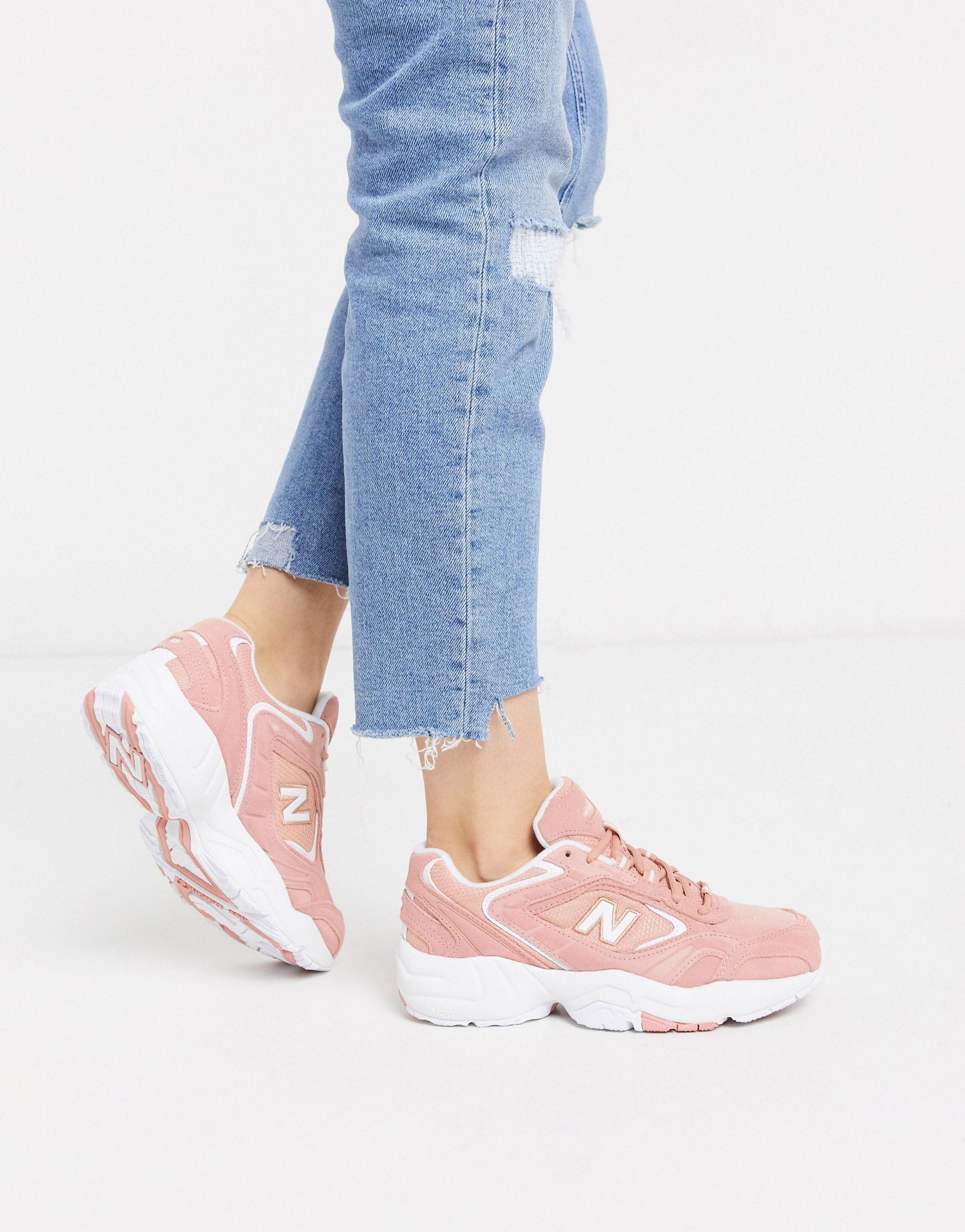 ladies new balance pink