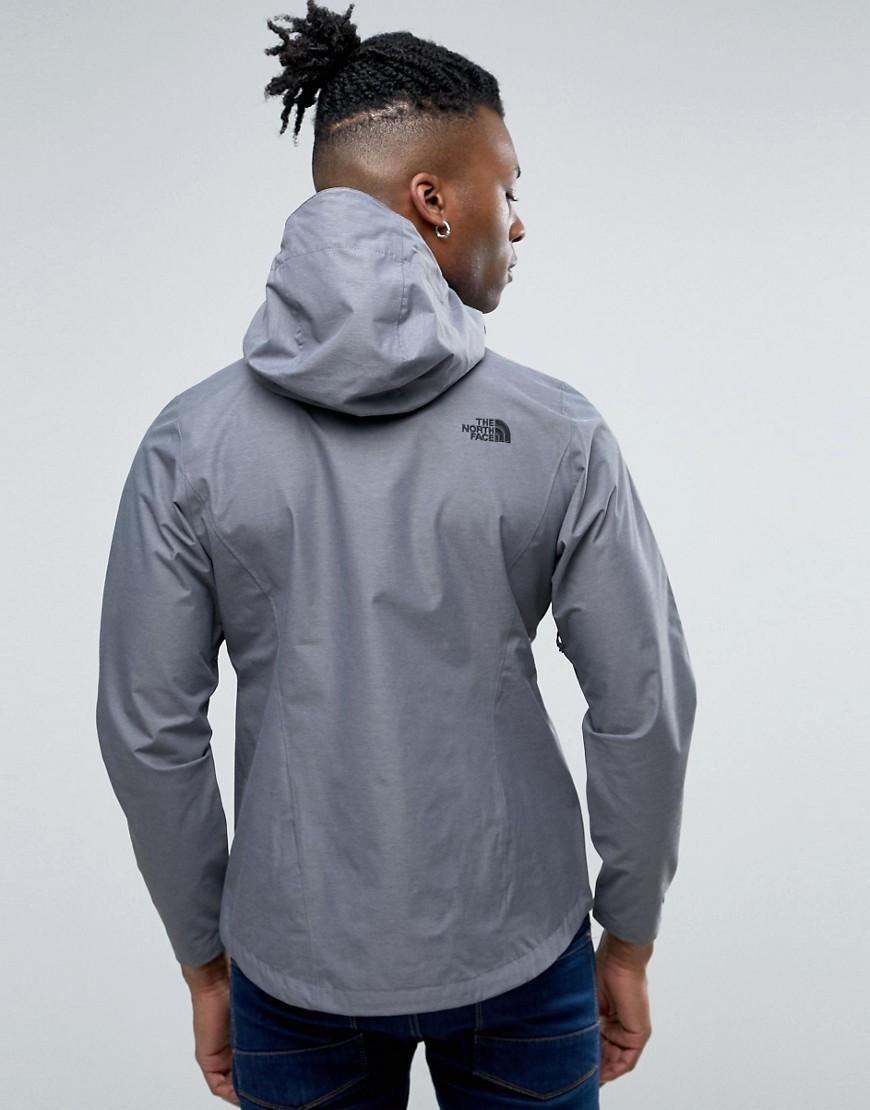 The North Face Synthetic Venture 2 Jacket In Dark Gray Heather for Men
