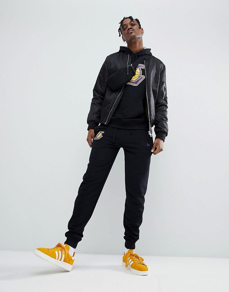 3d8d7c995ab Lyst - KTZ Nba Los Angeles Lakers Joggers In Black in Black for Men