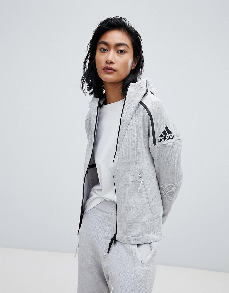 hot products reasonable price official site adidas 36 Hours Zne Tracksuit Top in White - Lyst