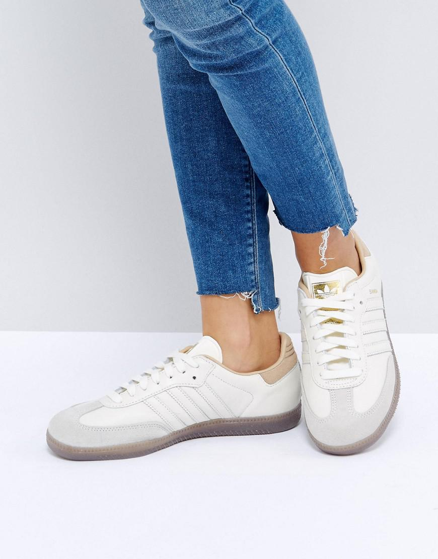 c1c68537a0f2e Lyst - adidas Originals Originals Samba Trainers In Off White in White