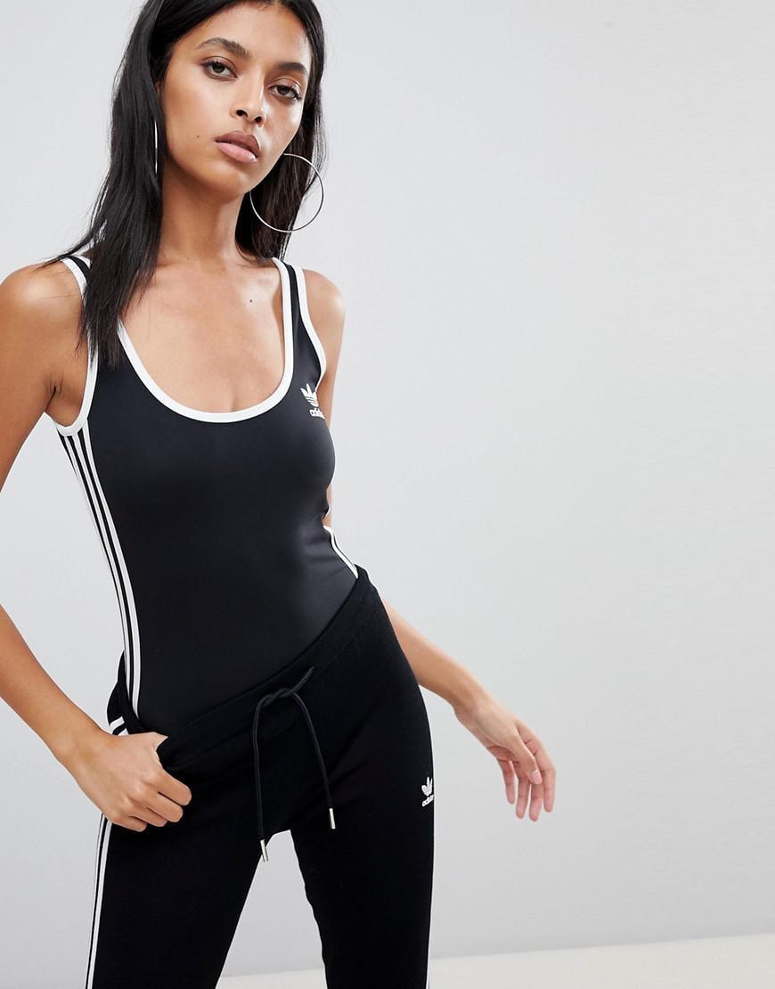 c41d87a9f adidas Originals Originals Adicolor Three Stripe Body In Black in ...