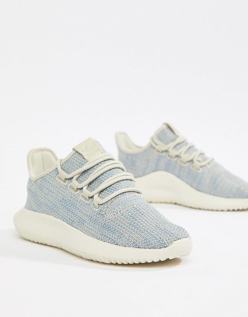 new style 07b6c 38c45 Lyst - adidas Originals Tubular Shadow Sneakers In Beige in