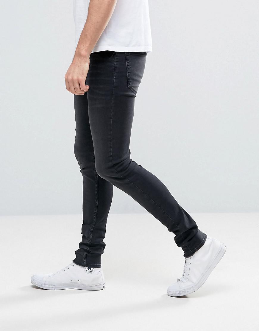 Wash Lyst Spray Cult Monday In Men For Him Jeans Black Cheap wpqYvyFSxq
