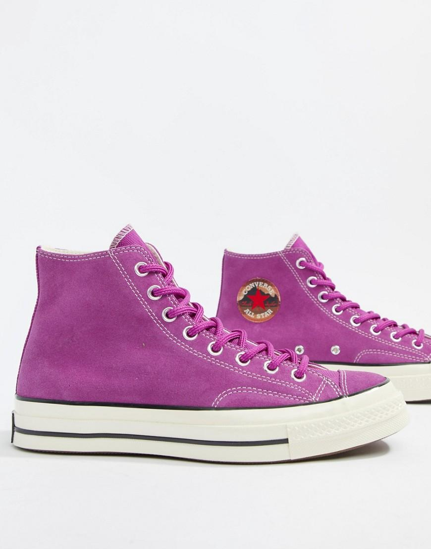 zapatillas converse violeta