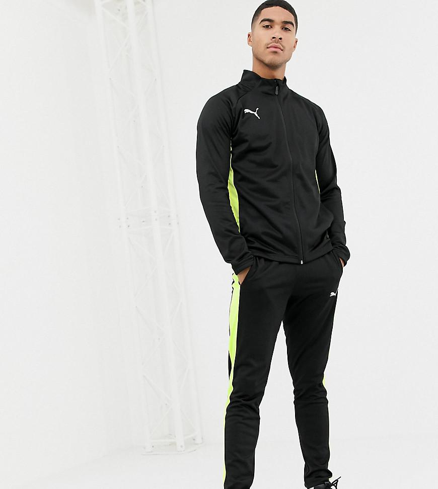 6060e8aca62 PUMA Ftblnxt Poly Tracksuit in Yellow for Men - Lyst