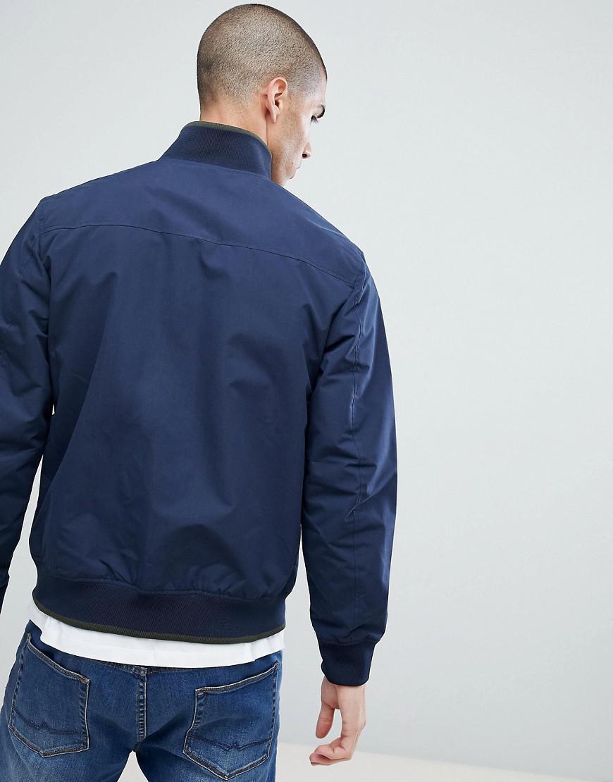 Jack & Jones Synthetic Jacket in Navy (Blue) for Men