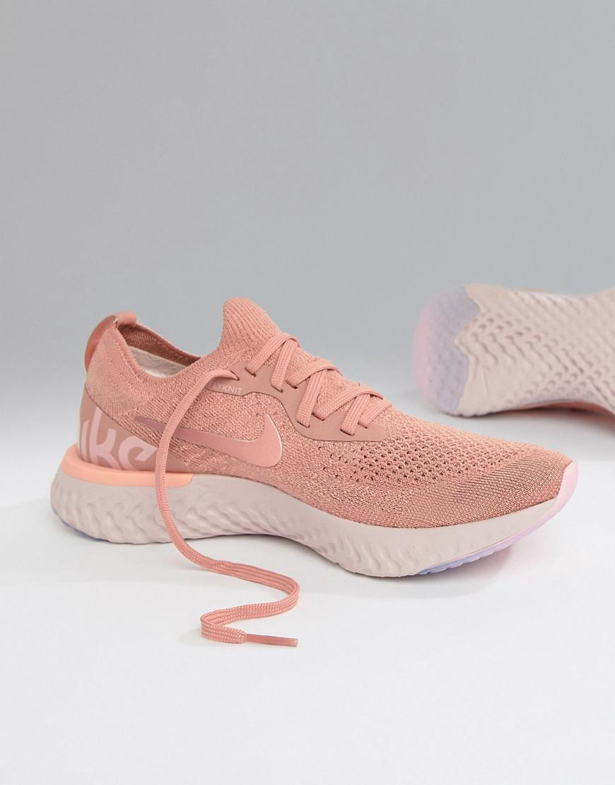 Nike Epic React Trainers In Pink