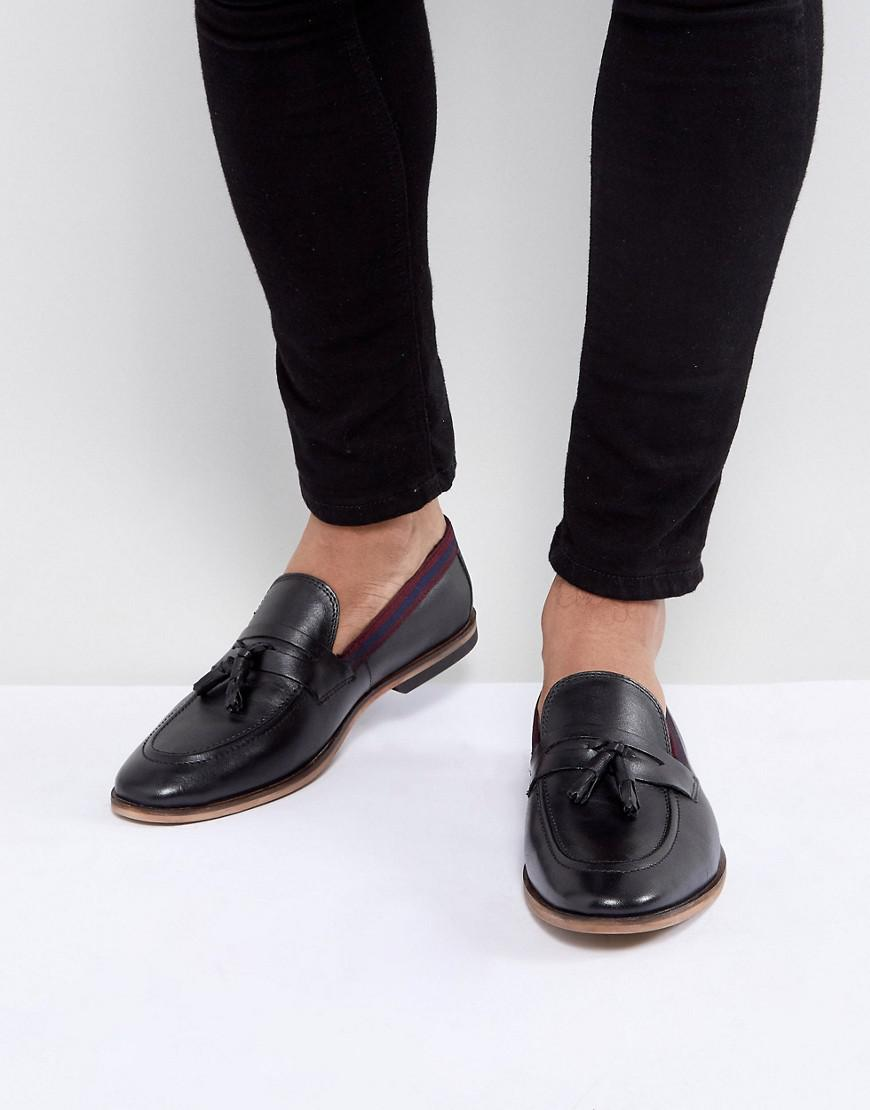 ASOS Loafers In Suede With Tape Detail ufFGy3ln