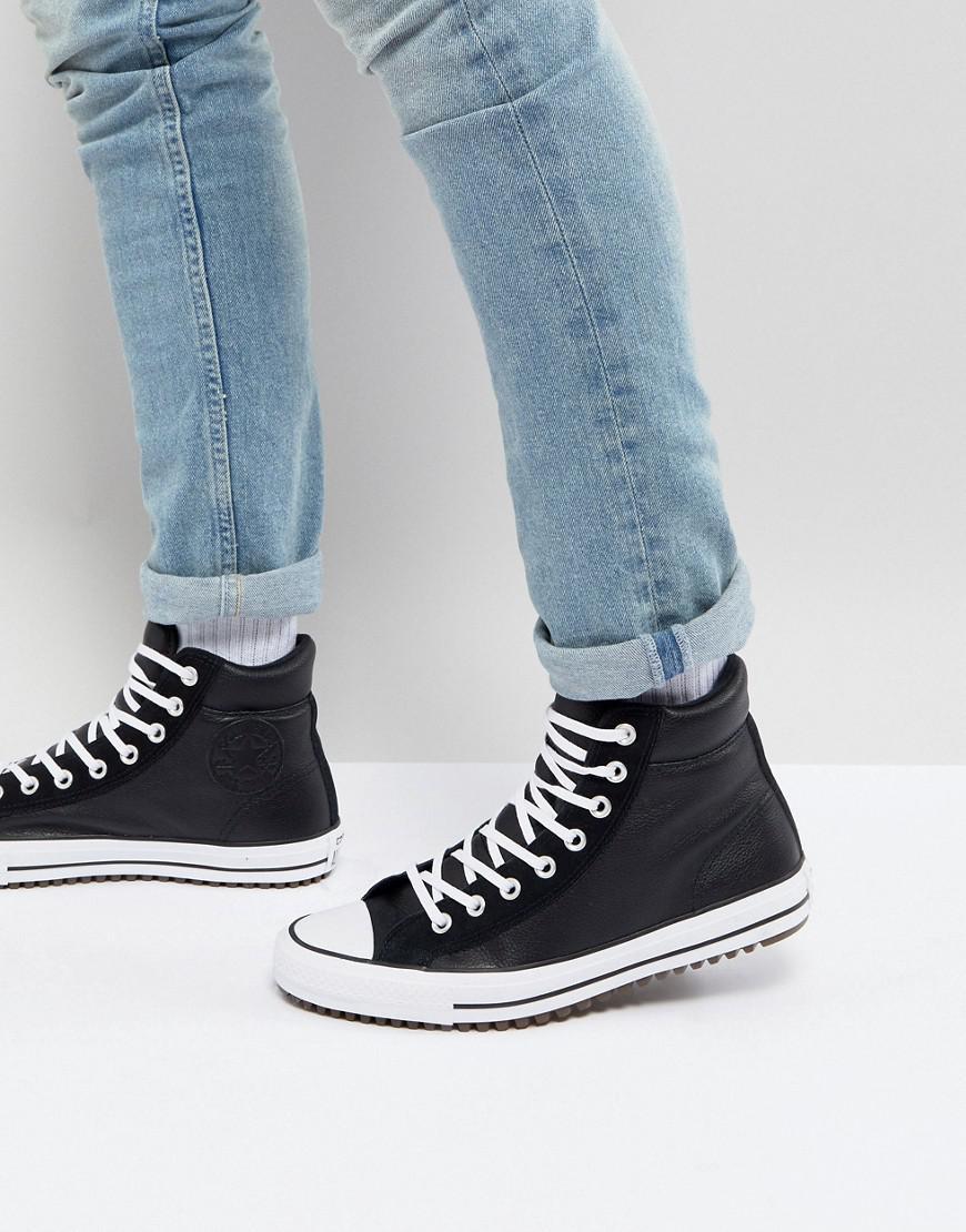 a78cf5ab7de32b Converse - Chuck Taylor All Star Street Sneaker Boots In Black 157496c001  for Men - Lyst. View fullscreen