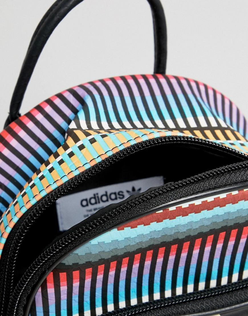 22942c764689 Lyst - adidas Originals X Farm Printed Mini Backpack