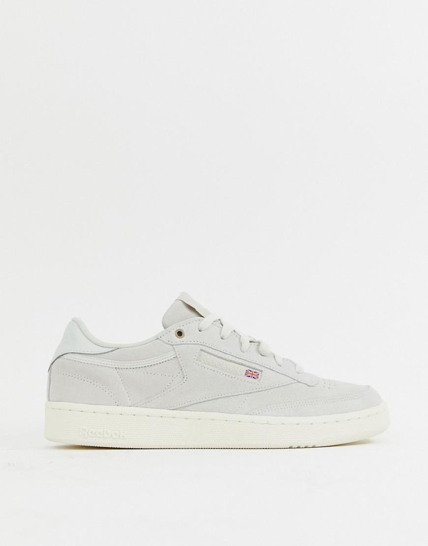 Reebok X Montana Cans Club C Trainers in White for Men - Lyst aadfab94a