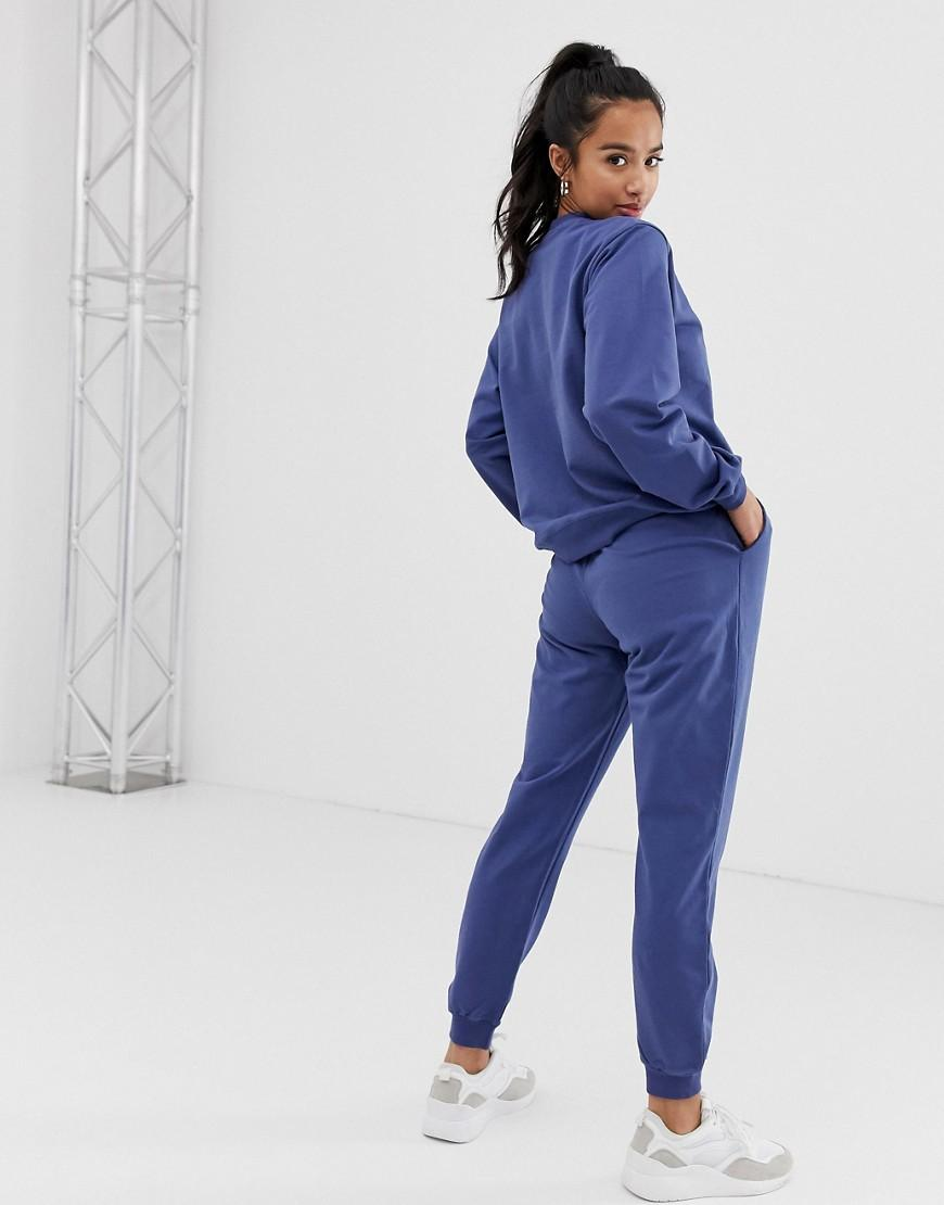 1c051a67830e0e Lyst - ASOS Asos Design Petite Tracksuit Ultimate Sweat / jogger With Tie  in Brown