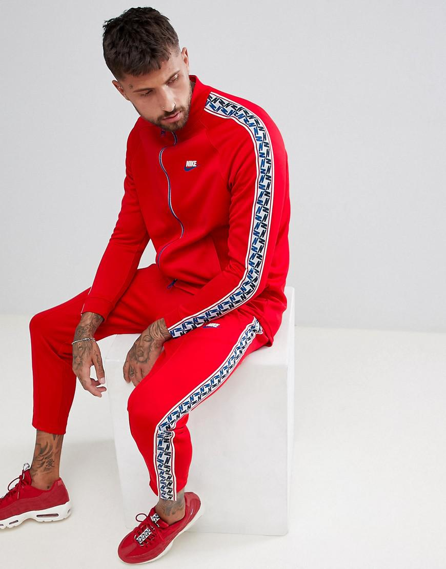 nike ensemble rouge