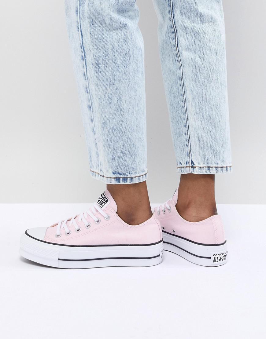 Converse - Chuck Taylor All Star Platform Sneakers In Pink - Lyst. View  fullscreen b3fa245f8