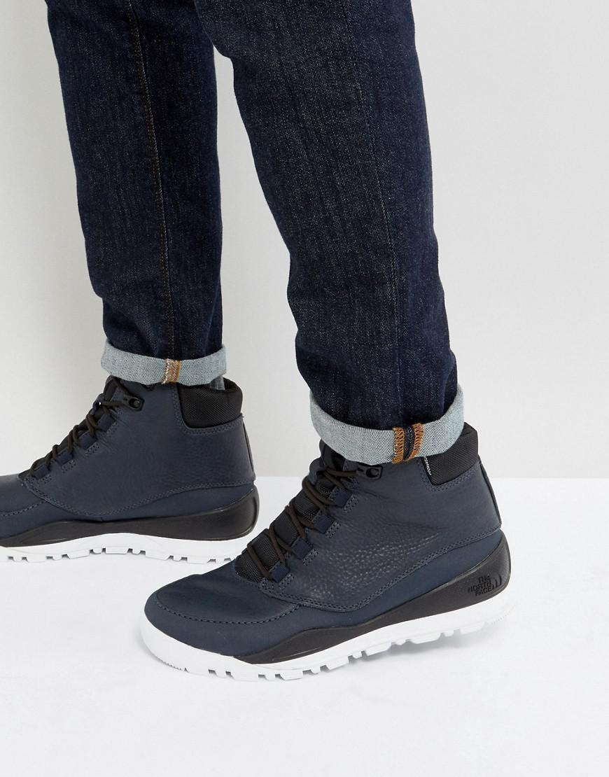 8418b9563 The North Face Edgewood 7 Leather Walking Boot In Navy in Blue for ...